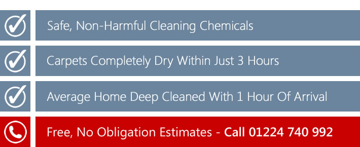 Domestic carpet cleaning in Newburgh, Portlethen and Stonehaven